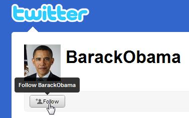 Obama abre una nueva cuenta de Twitter