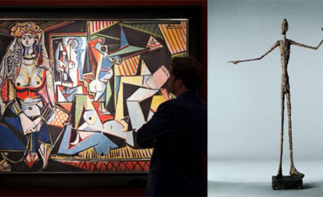 Una pintura y una escultura se venden por más de 300 millones de dolares