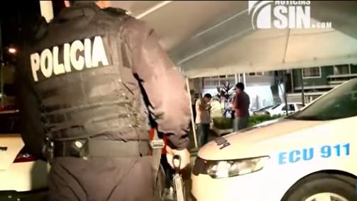 Apresan dominicano junto a otras siete personas durante operativo Ecuador