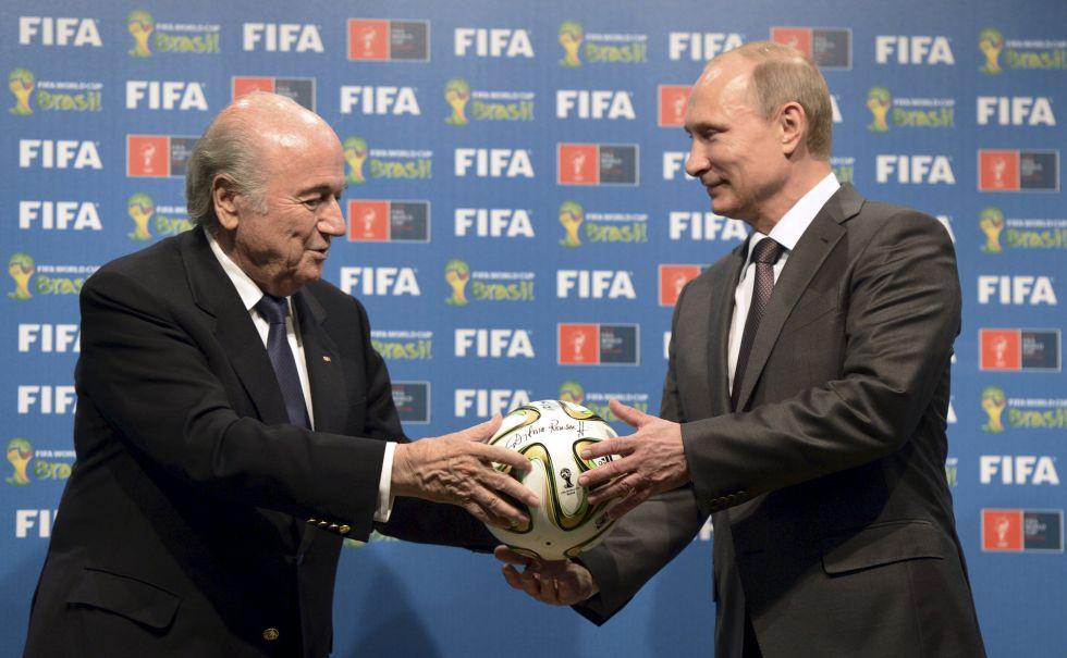Tensiones Internacionales: Putin respalda a FIFA
