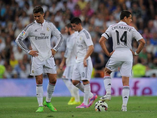 Los siete errores del Real Madrid