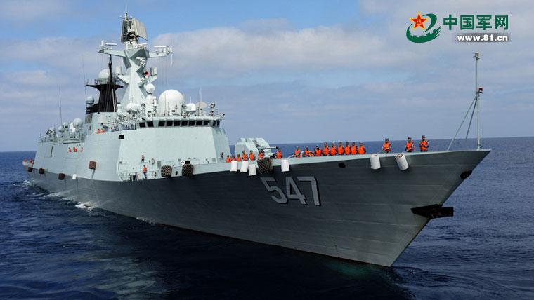 Rusia y China culminan sus primeras maniobras navales en el Mediterráneo