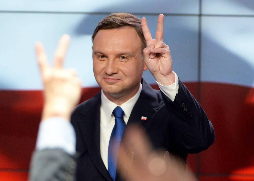 Normalidad en la segunda vuelta de las presidenciales en Polonia