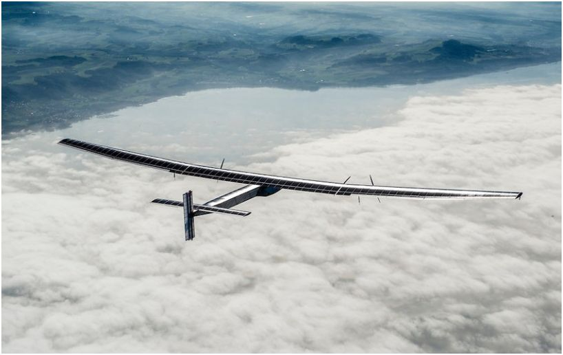 Avión solar inicia su travesía de cinco días de China a Hawai, sin detenerse