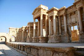 El Estado Islámico asesina a veinte miembros del régimen sirio en teatro romano de Palmira