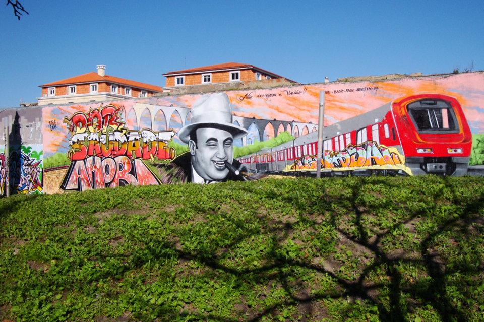 El arte urbano se erige como nuevo atractivo turístico de la ciudad de Lisboa