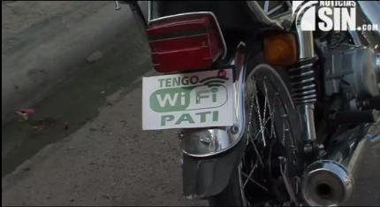 ¡Internet gratis! Motoconchista implementa la tecnología para atraer clientes