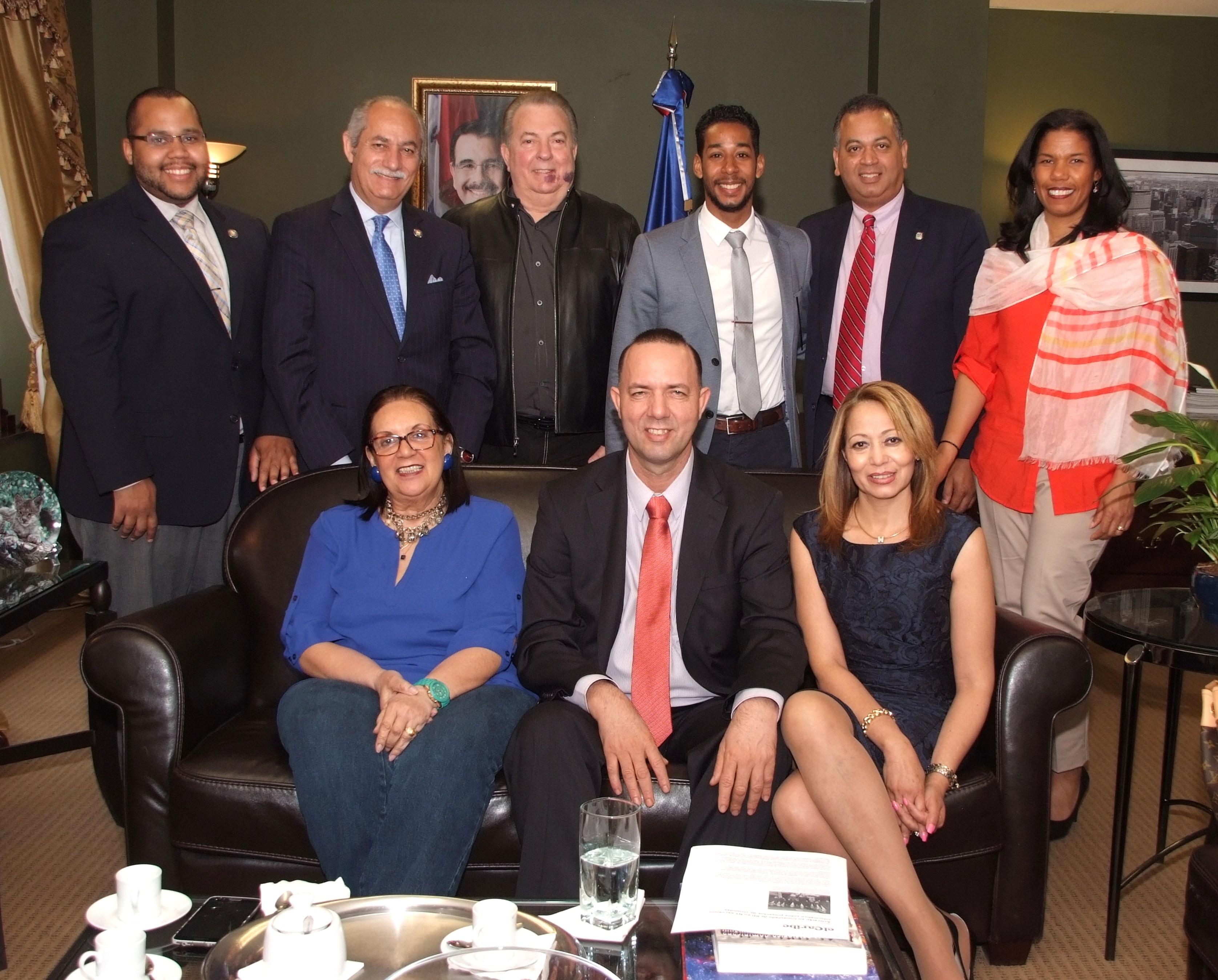 Dominicanos electos en NY y NJ trabajan con el Consejo de Apoyo a la Comunidad Dominicana