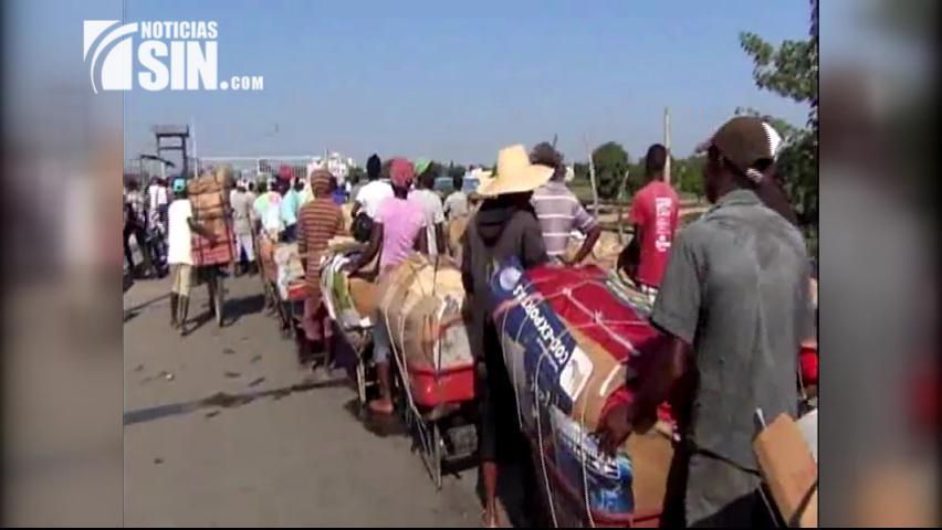 Impiden entrada a RD a compradores de hielo haitianos