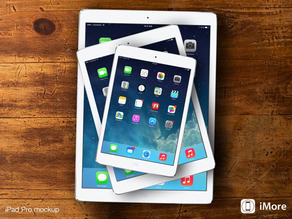 El iPad Pro tendrá pantalla sensitiva más grande y un lápiz externo