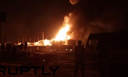 Fuego arrasa 50 hectáreas en Roma y obliga a evacuar residencia y convento