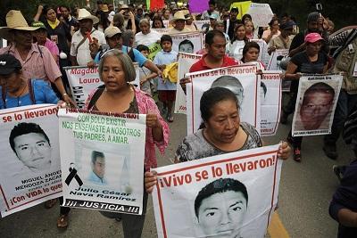 Se cumple un año de la desaparición de 43 estudiantes en México