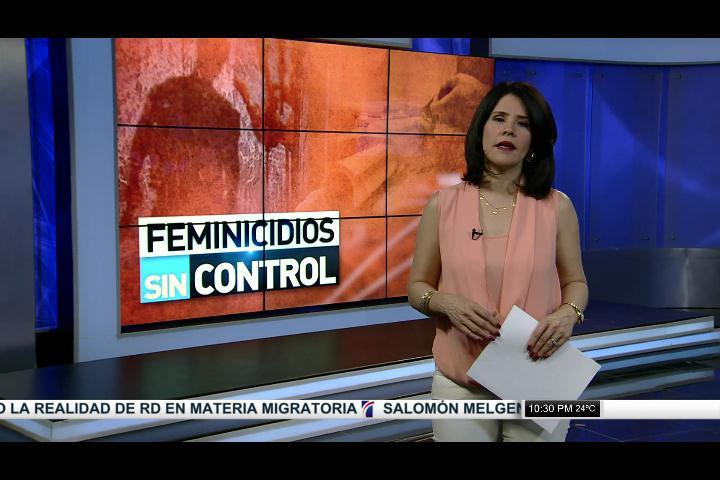 Feminicidios sin control