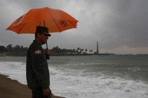 Meteorología pronostica chubascos dispersos en horas de la tarde y la noche