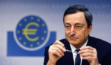 Draghi dice que la