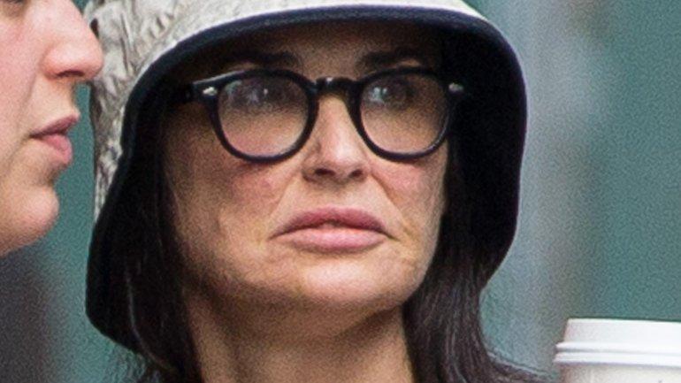 ¿Qué le pasó al bellísimo rostro de Demi Moore?