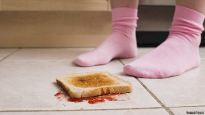 ¿Es seguro comer algo que cayó al suelo si se recoge en menos de 5 segundos?