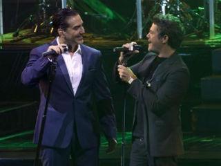 Alejandro Sanz y Alejandro Fernández cantan juntos por primera vez