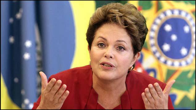 Rousseff acusa a su vicepresidente de ser
