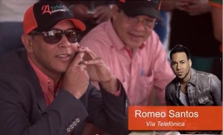 Romeo Santos dona un millón de pesos para operar a dos hermanos y una mujer en SFM