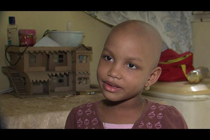 """""""Mi mejor regalo es sanarme, que Dios me de la vida"""" dice niña padece leucemia"""