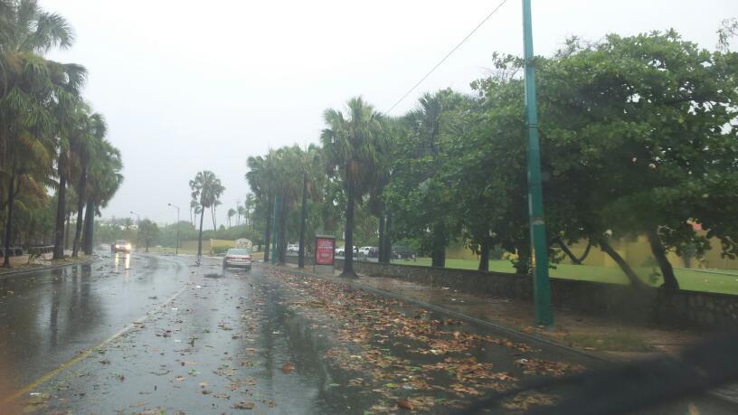 Vaguada provocará lluvias en algunas partes del país;  temperaturas seguirán calurosas