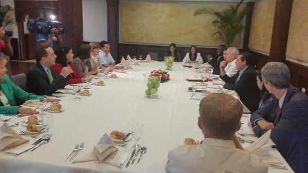 OEA está reunida ahora con representantes de organismos internacionales en RD