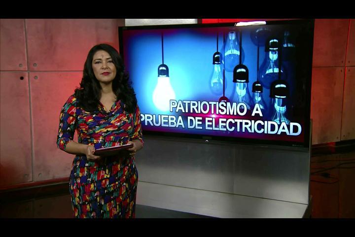 Patricia Solano: Patriotismo a prueba de electricidad