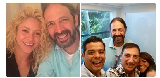 Juan Luis Guerra, atrapado en el elevador de la casa de Shakira