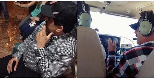 Se filtran fotos del capo mexicano Guzmán disfrutando de su libertad