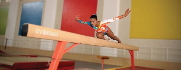 La gimnasta Yamilet Peña gana medalla de plata en panamericano