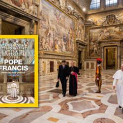 National Geographic dedica su último número al papa Francisco