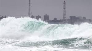 El tifón Chan Hom causa 16 heridos a su paso por el suroeste de Japón