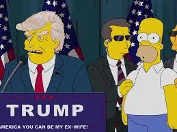 Chistoso video muestra como Homero Simpson critica a Donald Trump