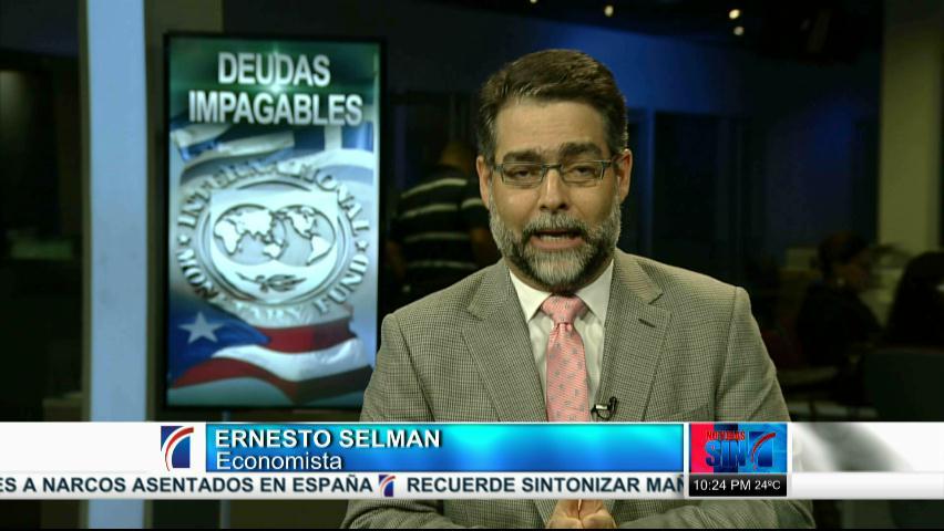 Relación que puede tener con RD situaciones económicas de Grecia y Puerto Rico