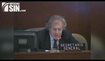 Legisladores reaccionan ante diálogo solicitado por la OEA