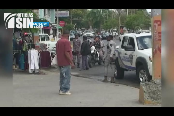 Continúa en aumento la delincuencia en Santiago