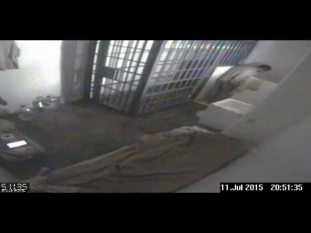 México difunde video del momento exacto en que se fuga