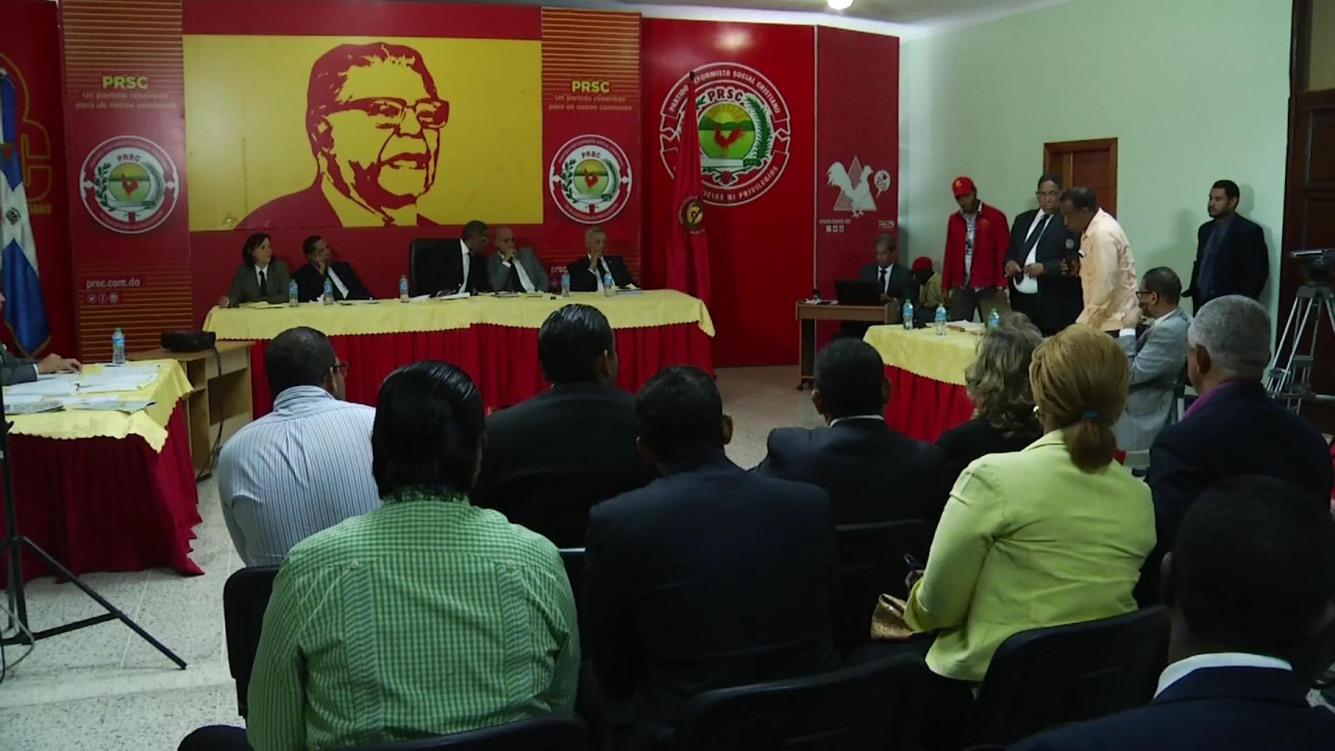 Posponen juicio diciplinario contra dirigentes PRSC