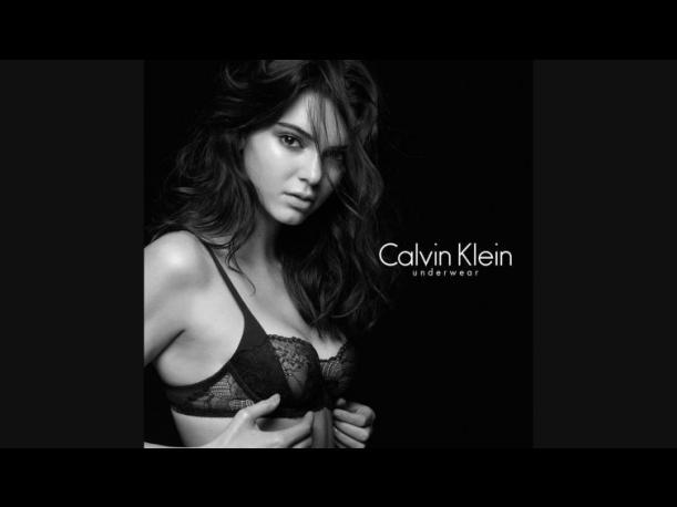Kendall Jenner es viral con fotos hot para Calvin Klein