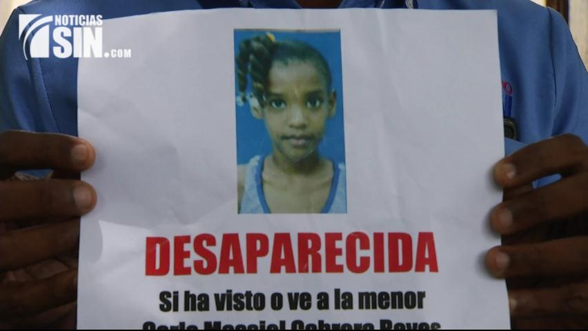 Familiares de niña con 14 días desaparecida piden a las autoridades intensificar búsqueda