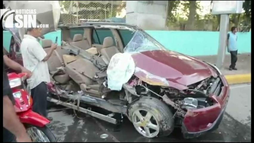 AMET atribuye accidentes a falta de conciencia e imprudencia de conductores