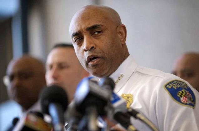 Destituyen al jefe de Policía de Baltimore por creciente oleada de violencia
