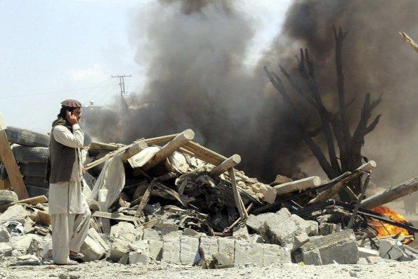 Al menos 18 muertos y 31 heridos en ataque suicida en un bazar en Afganistán