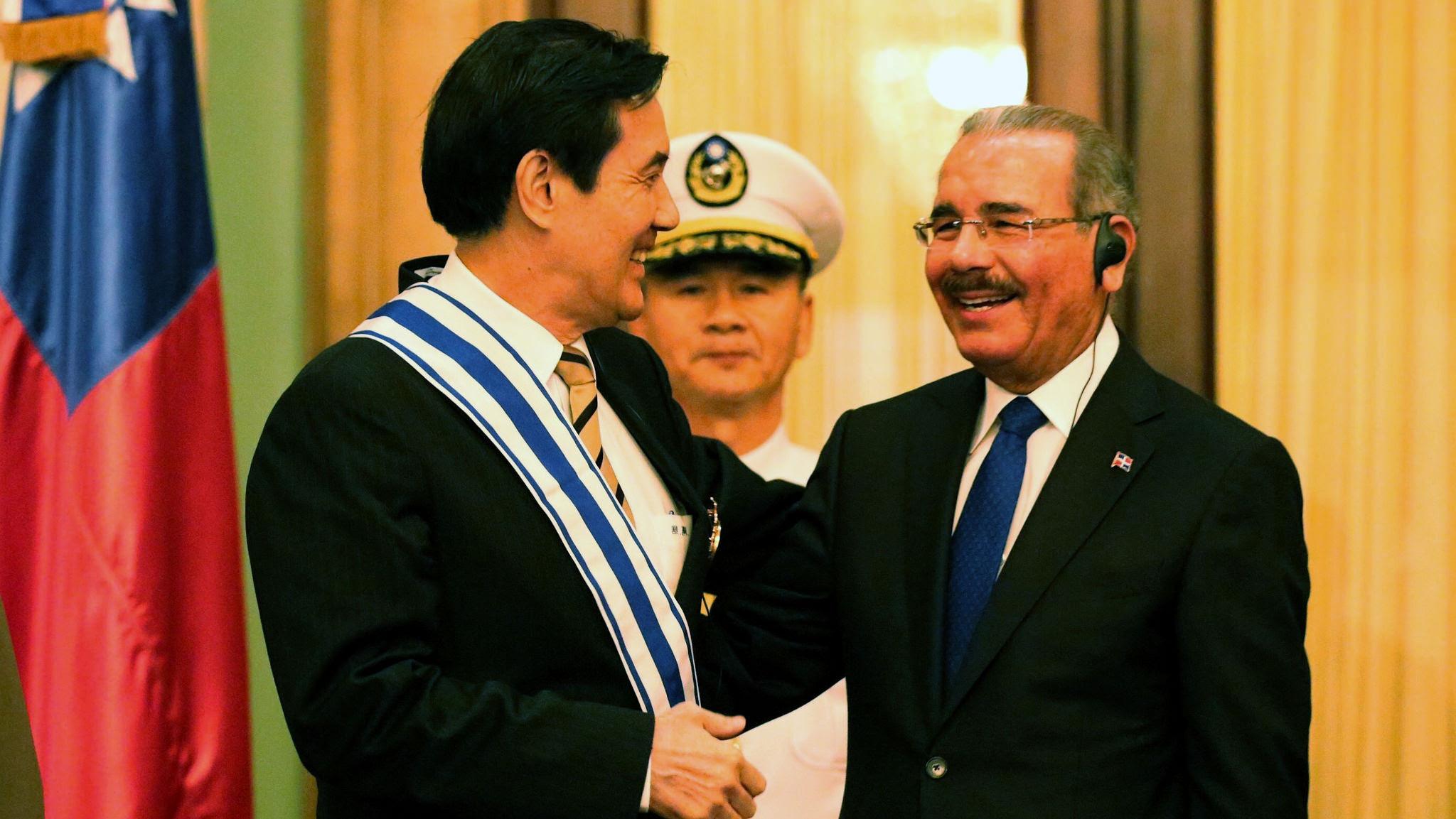 Presidente Medina recibe a Ma Ying-jeou: se fortalecen lazos con Taiwán