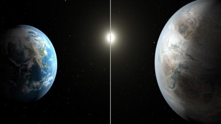 Hallan posible planeta