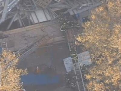 Se derrumba edificio de 4 pisos en Brooklyn