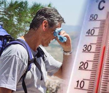 Temperaturas calurosas en gran parte del país