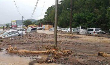 Dominica declara 9 zonas de desastre por las lluvias de la tormenta Erika