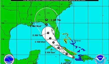 Tormenta Erika llega hoy a Cuba debilitada en forma de depresión tropical